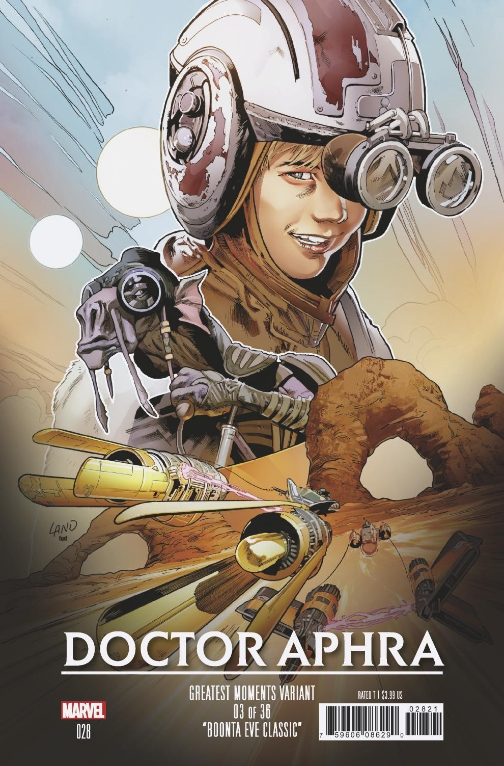 Doctor Aphra #28 (Greg Land Greatest Moments Variant Cover 3 of 36) (30.01.2019)
