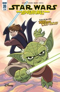 Star Wars Adventures #20 (Cover A by Derek Charm) (17.04.2019)
