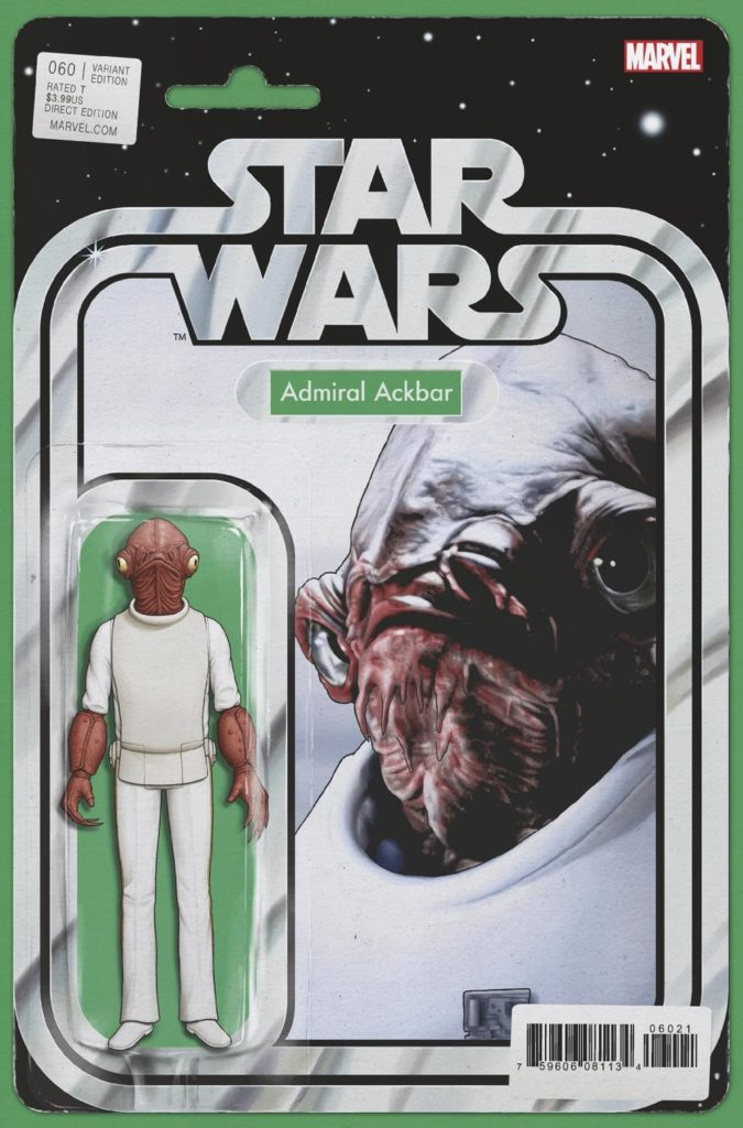 Star Wars #60 (Action Figure Variant Cover) (23.01.2019)