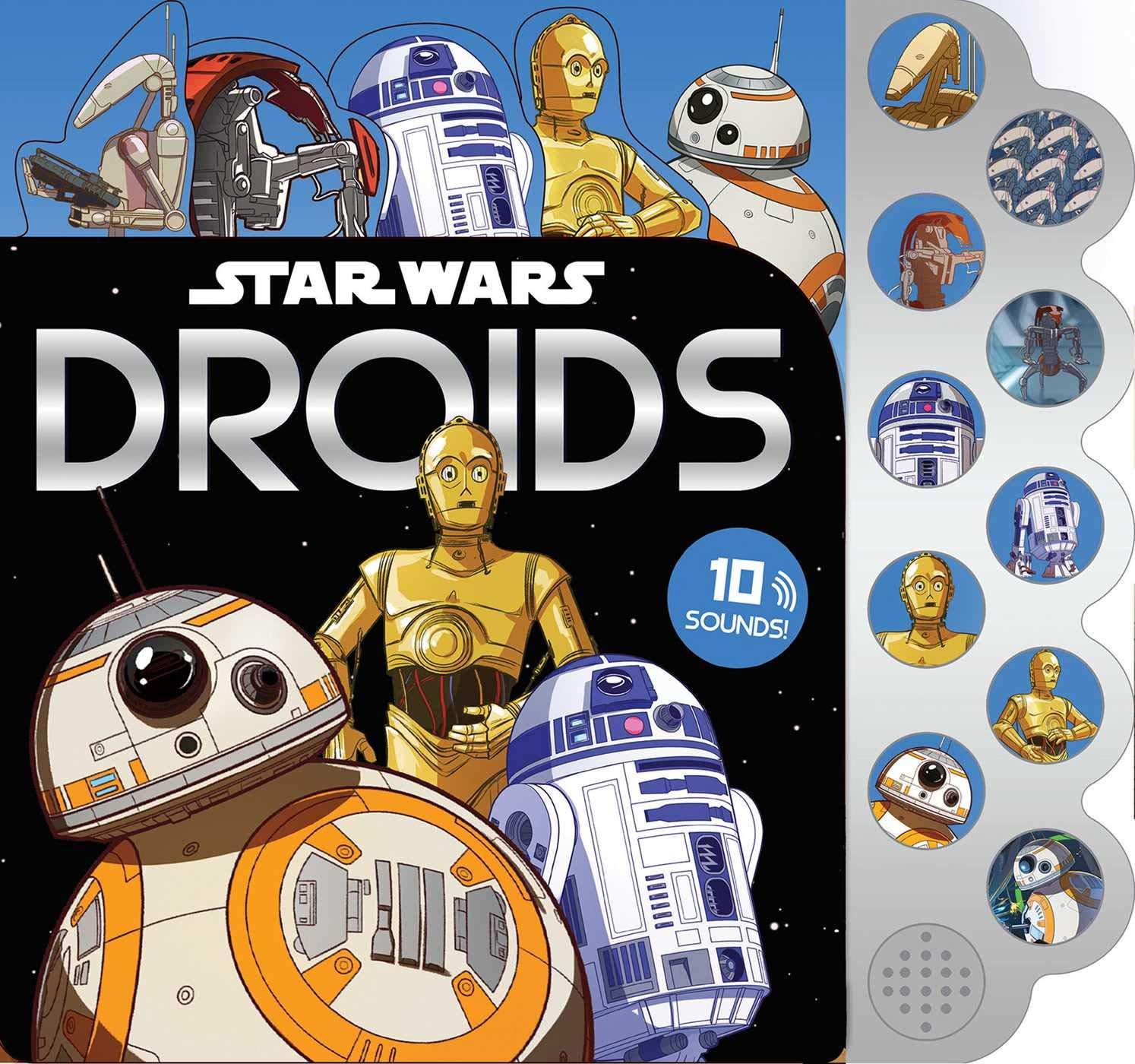 Star Wars: Droids - 10-Button Sound Book (01.10.2019)