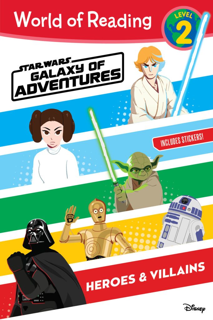Galaxy of Adventures: Heroes & Villains (World of Reading Level 2) (27.08.2019)