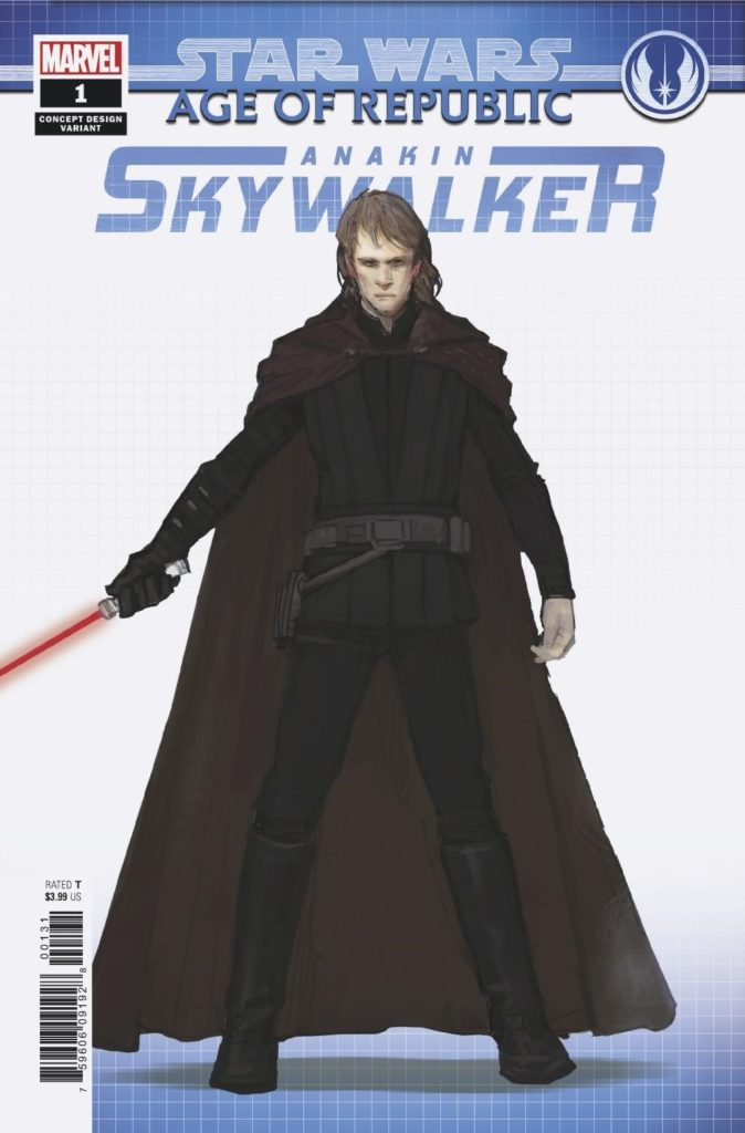 Age of Republic: Anakin Skywalker #1 (Sang Jun Lee Concept Design Variant Cover) (06.02.2019)