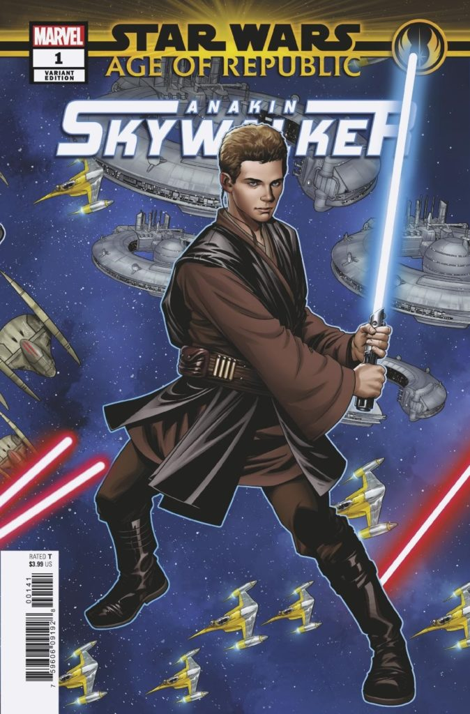Age of Republic: Anakin Skywalker #1 (Mike McKone Puzzle Piece Variant Cover 6 of 27) (06.02.2019)