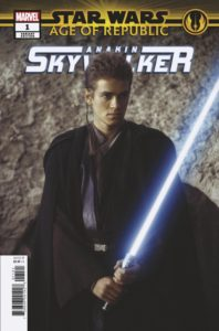 Age of Republic: Anakin Skywalker #1 (Movie Variant Cover) (06.02.2019)