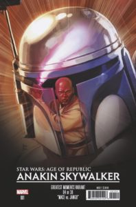 Age of Republic: Anakin Skywalker #1 (Rod Reis Greatest Moments Variant Cover 4 of 36) (06.02.2019)