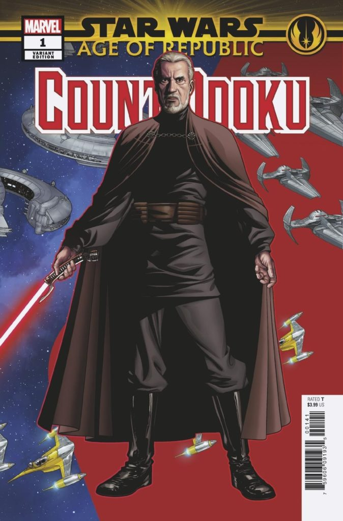 Age of Republic: Count Dooku #1 (Mike McKone Puzzle Piece Variant Cover 7 of 27) (13.02.2019)