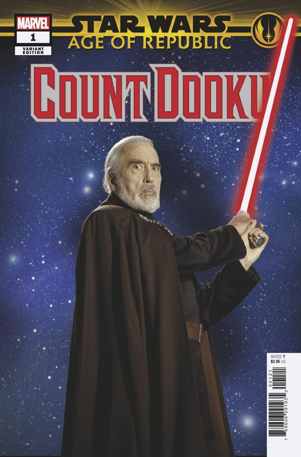 Age of Republic: Count Dooku #1 (Movie Variant Cover) (13.02.2019)