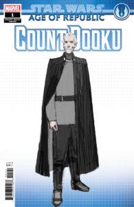 Age of Republic: Count Dooku #1 (Dermot Power Concept Design Variant Cover) (13.02.2019)