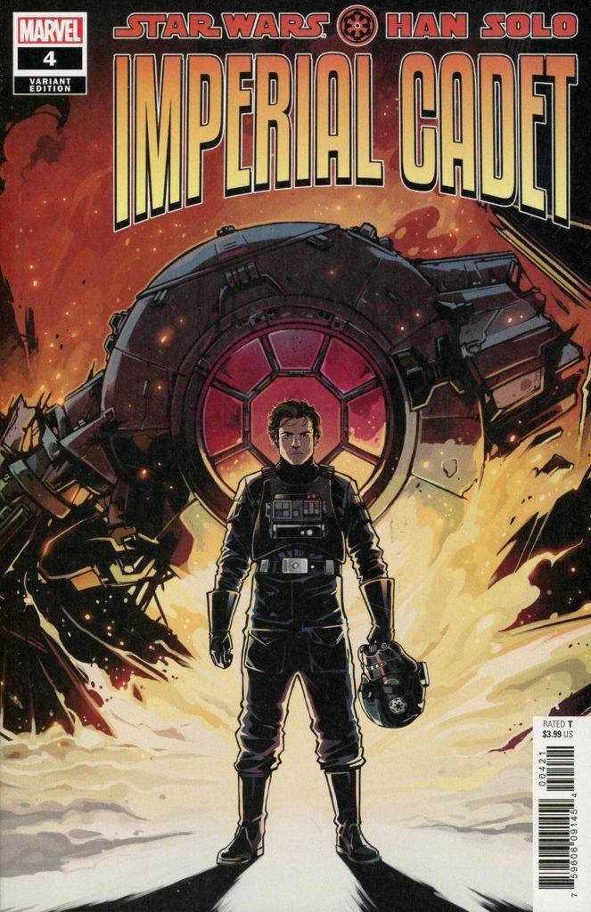 Han Solo: Imperial Cadet #4 (Caspar Wijngaard Variant Cover) (13.02.2019)