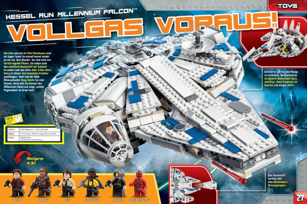 LEGO Star Wars Magazin #43 - Vorschau Seiten 26 und 27