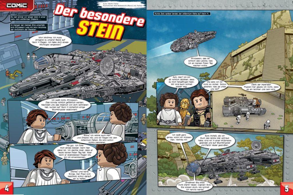 LEGO Star Wars Magazin #43 - Vorschau Seiten 4 und 5