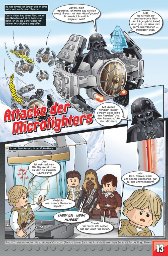 LEGO Star Wars Sammelband #13 - Action mit Microfighters - Vorschauseite 13