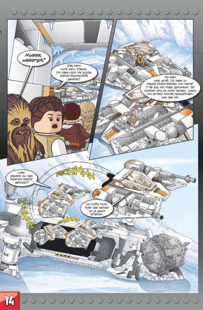 LEGO Star Wars Sammelband #13 - Action mit Microfighters - Vorschauseite 14