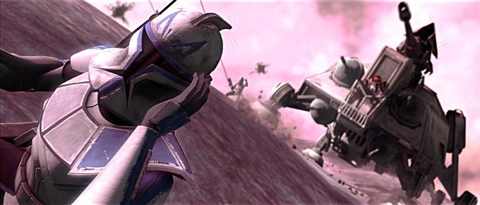 Rex und Ahsoka auf Teth (Bildquelle: jedipedia.net)