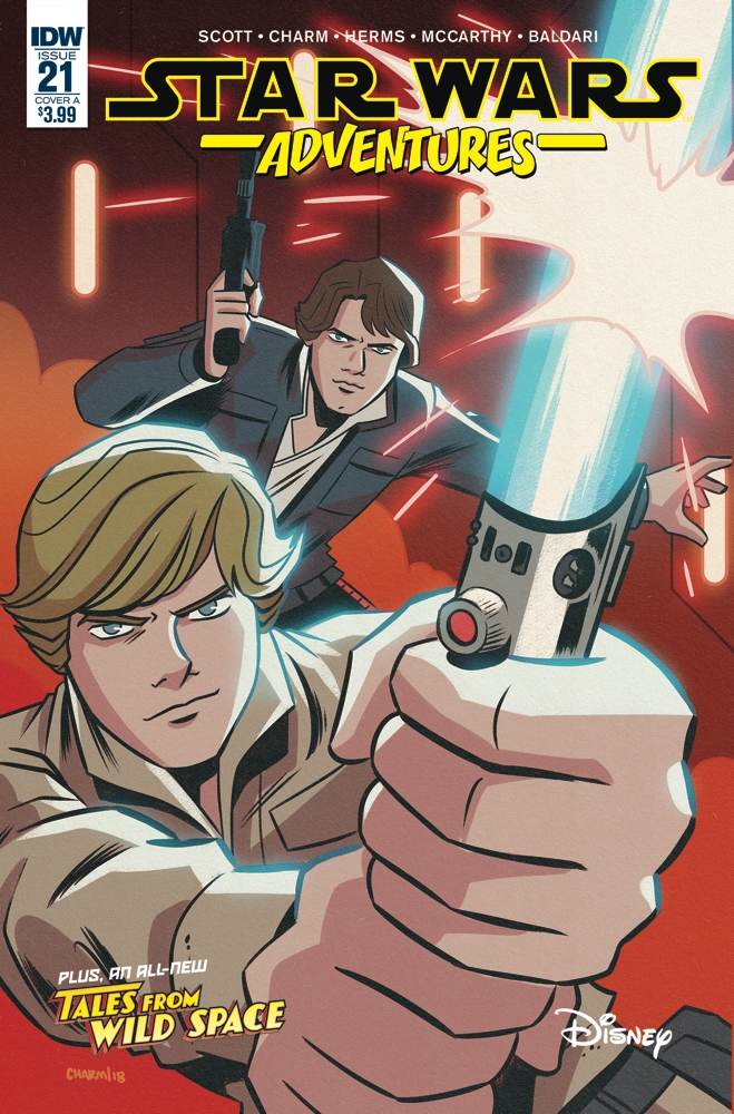 Star Wars Adventures #21 (Cover A by Derek Charm) (08.05.2019)