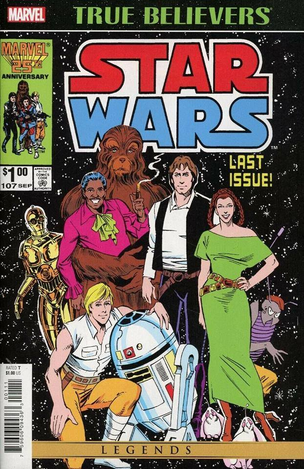 True Believers: Star Wars: The Original Marvel Years #107 (April 2019)