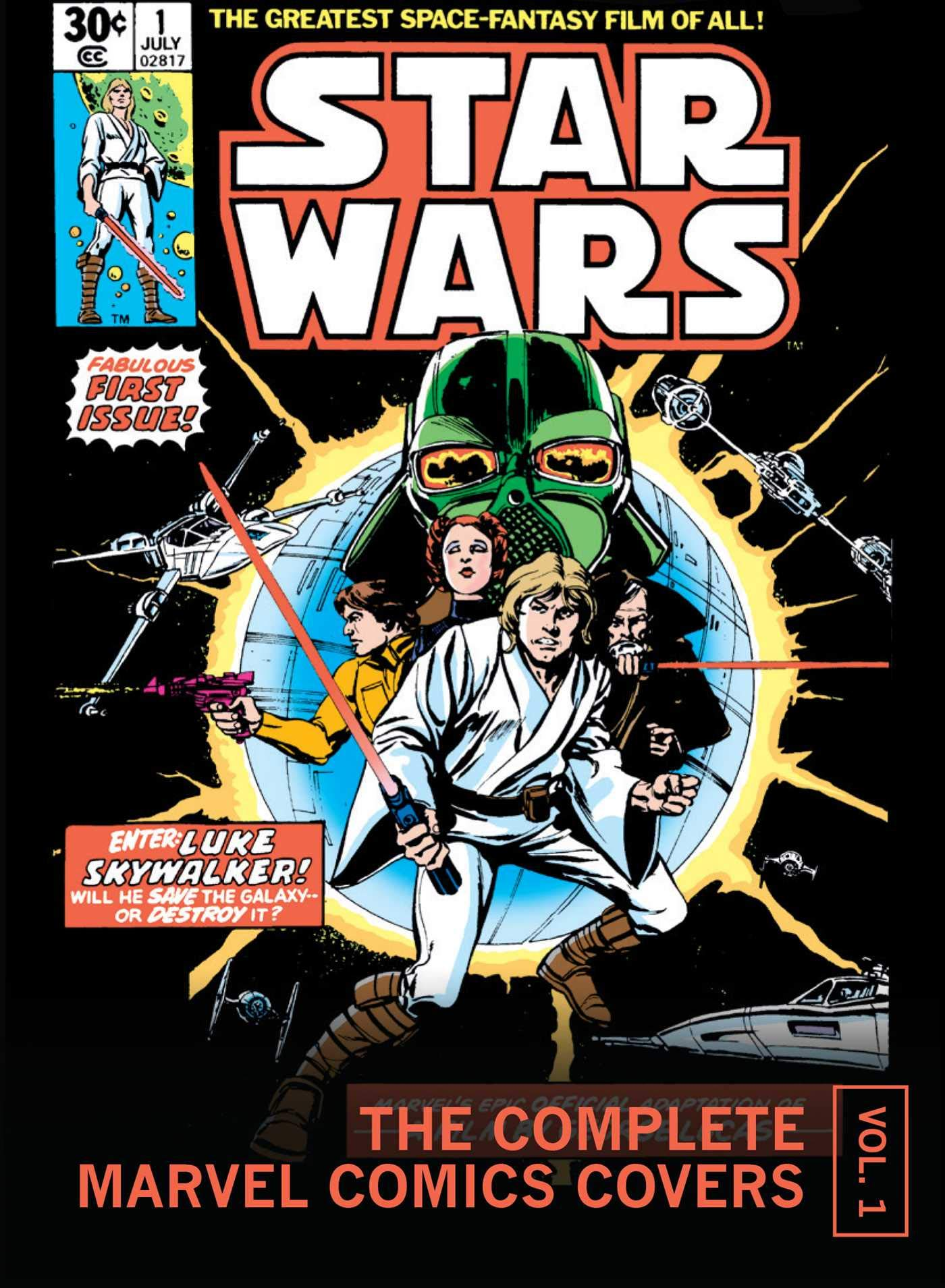 Star Wars: The Complete Marvel Comics Covers Mini Book, Volume 1 (08.10.2019)