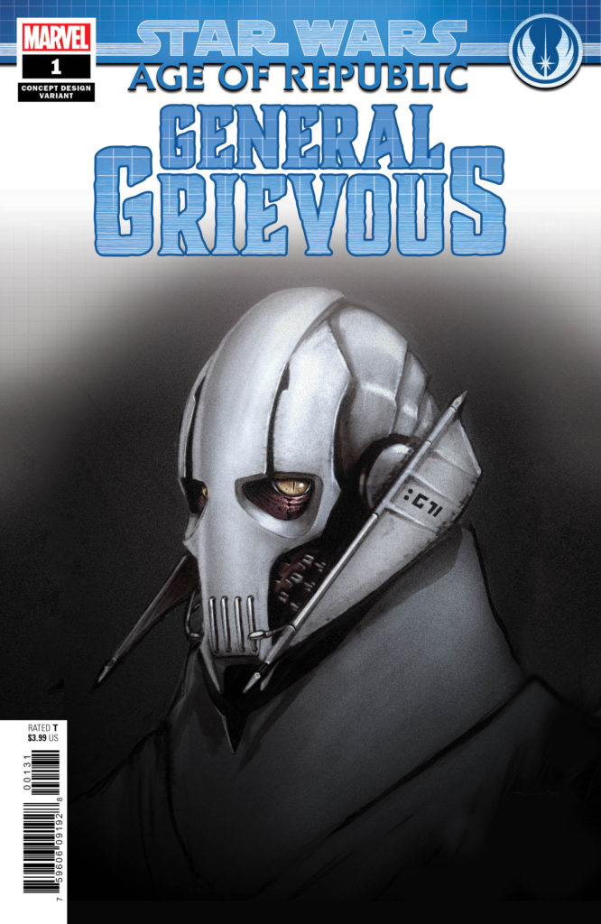 Age of Republic: General Grievous #1 (Concept Design Variant Cover) (13.03.2019)