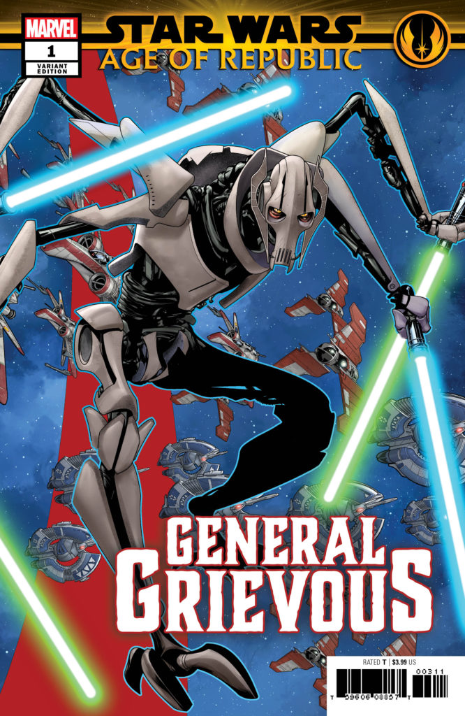 Age of Republic: General Grievous #1 (Mike McKone Puzzle Piece Variant Cover 9 of 27) (13.03.2019)