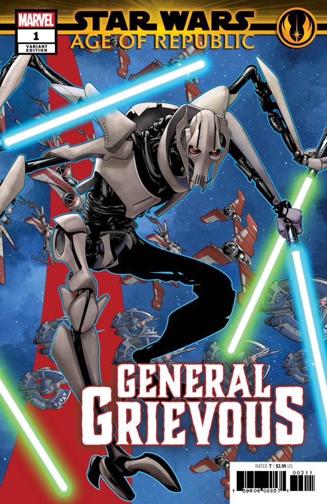Age of Republic: General Grievous #1 (Mike McKone Puzzle Piece Variant Cover 9 of 27) (13.03.2019)
