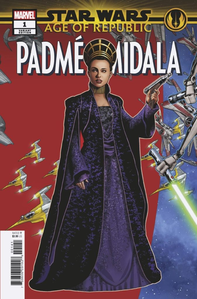 Age of Republic: Padmé Amidala #1 (Mike McKone Puzzle Piece Variant Cover 8 of 27) (06.03.2019)