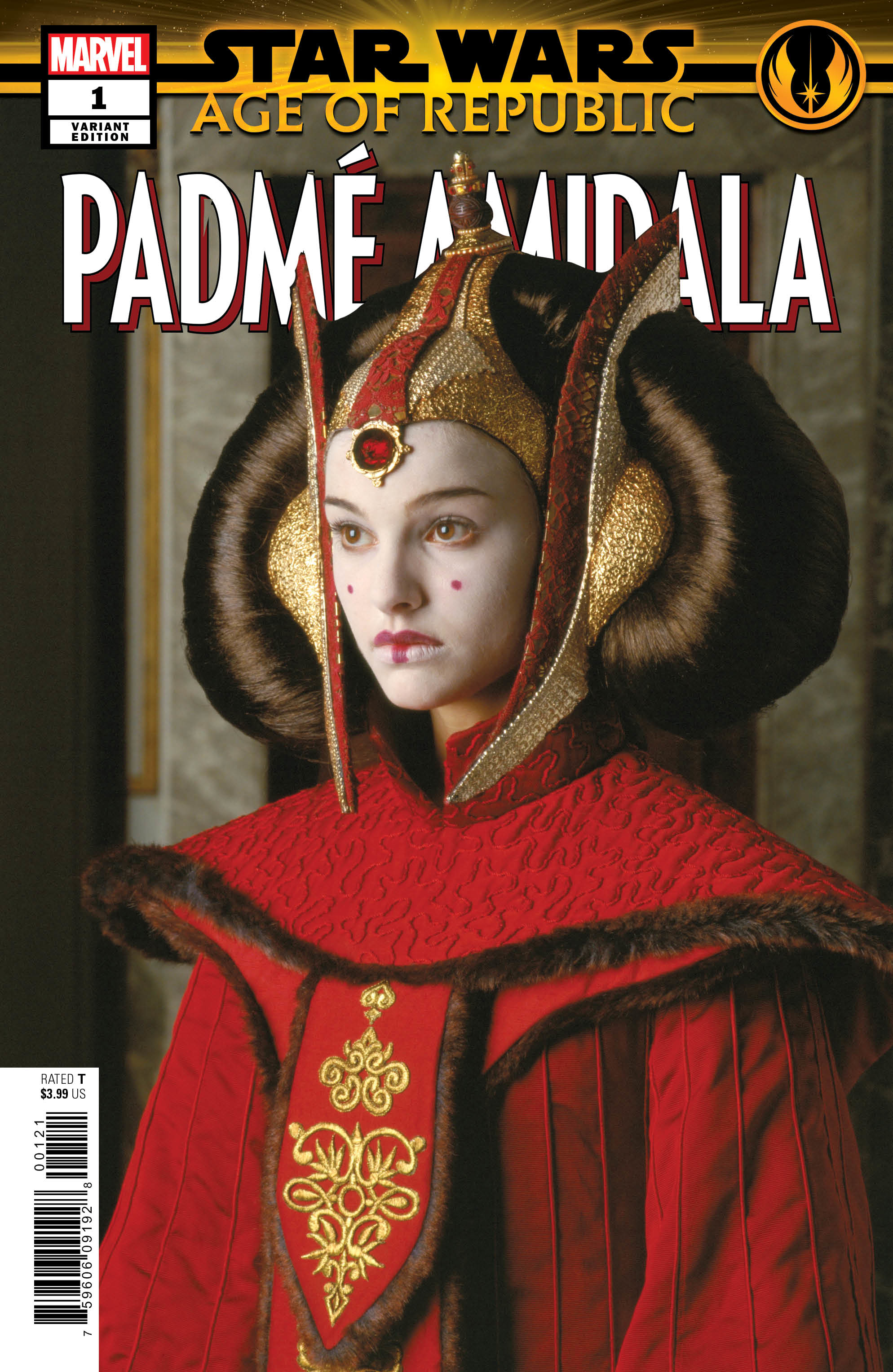 Age of Republic: Padmé Amidala #1 (Movie Variant Cover) (06.03.2019)