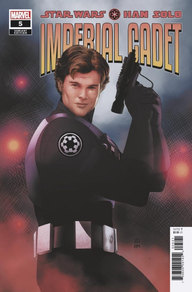 Han Solo: Imperial Cadet #5 (Artist Variant Cover) (13.03.2019)