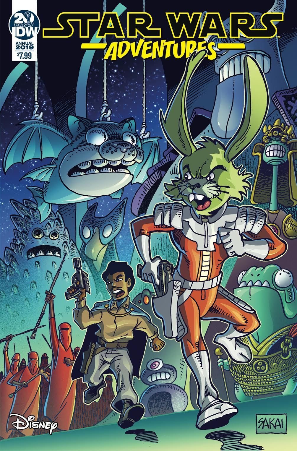 Star Wars Adventures Annual 2019 (21.08.2019)