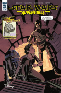 Star Wars Adventures #22 (Cover A by Elsa Charretier) (05.06.2019)