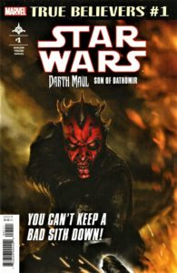 True Believers: Darth Maul: Son of Dathomir #1 (01.05.2019)