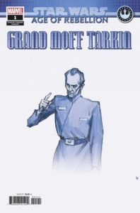 Age of Rebellion: Grand Moff Tarkin #1 (Iain McCaig Concept Design Variant Cover) (10.04.2019)