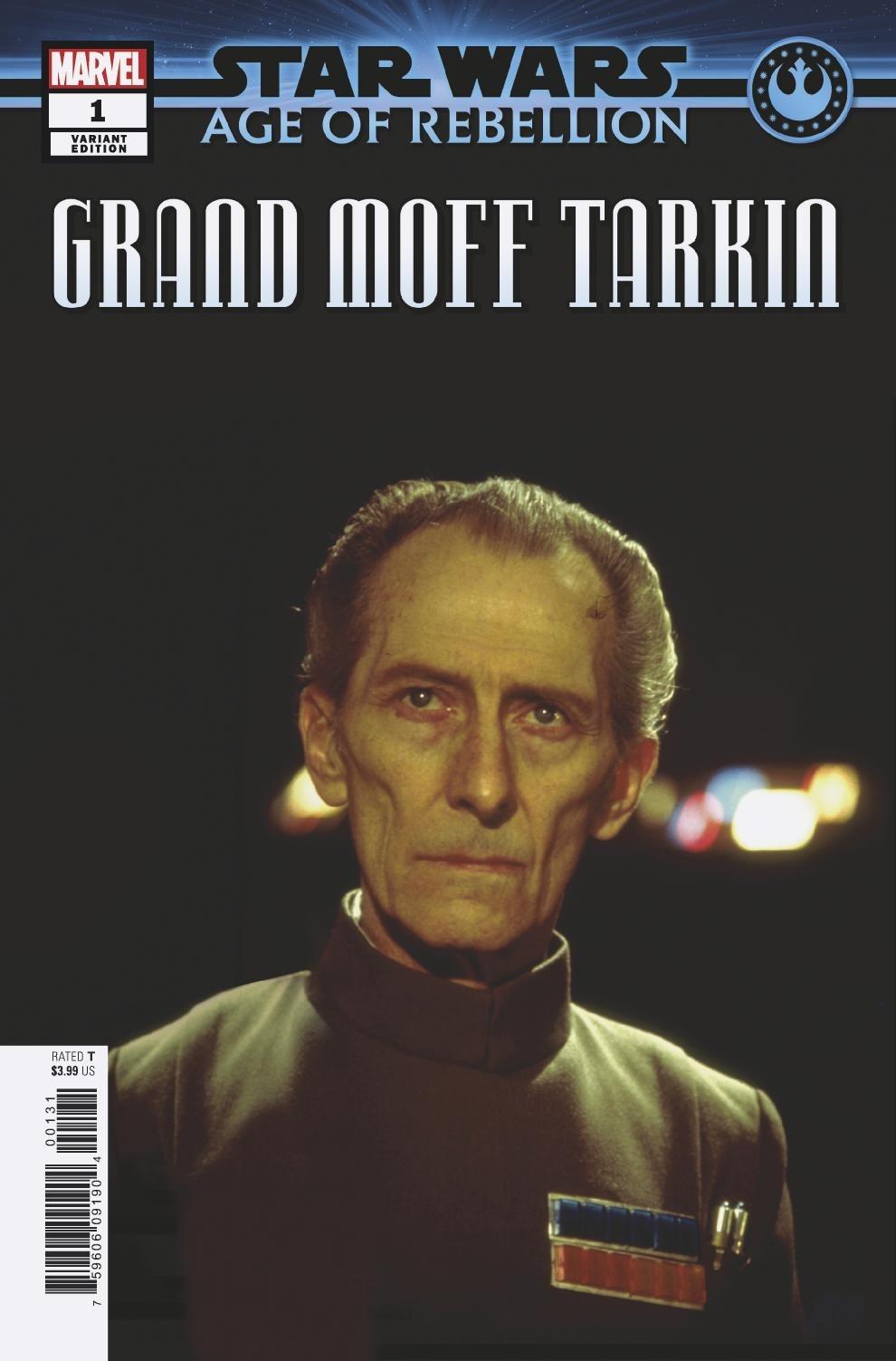 Age of Rebellion: Grand Moff Tarkin #1 (Movie Variant Cover) (10.04.2019)