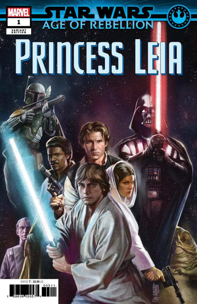 Age of Rebellion: Princess Leia #1 (Giuseppe Camuncoli Promo Variant Cover) (10.04.2019)