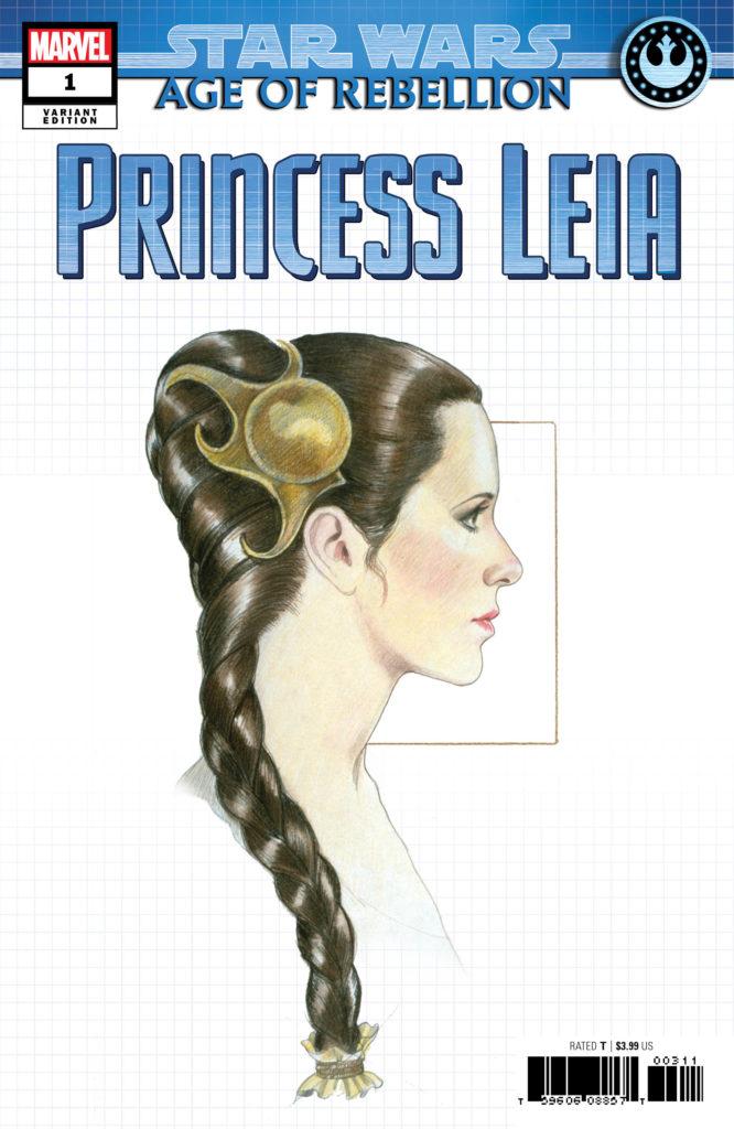 Age of Rebellion: Princess Leia #1 (Concept Design Variant Cover) (10.04.2019)