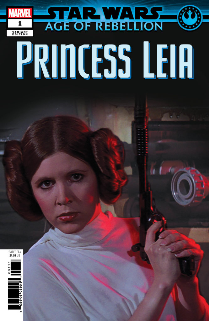Age of Rebellion: Princess Leia #1 (Movie Variant Cover) (10.04.2019)