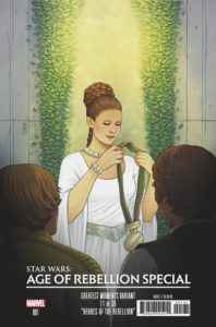 Age of Rebellion Special #1 (Jen Bartel Greatest Moments Variant Cover 11 of 36) (17.04.2019)