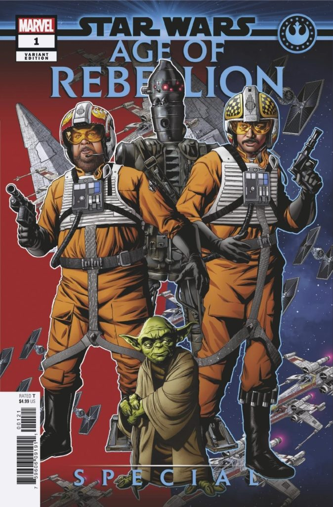 Age of Rebellion Special #1 (Mike McKone Puzzle Piece Variant Cover 12 of 27) (17.04.2019)