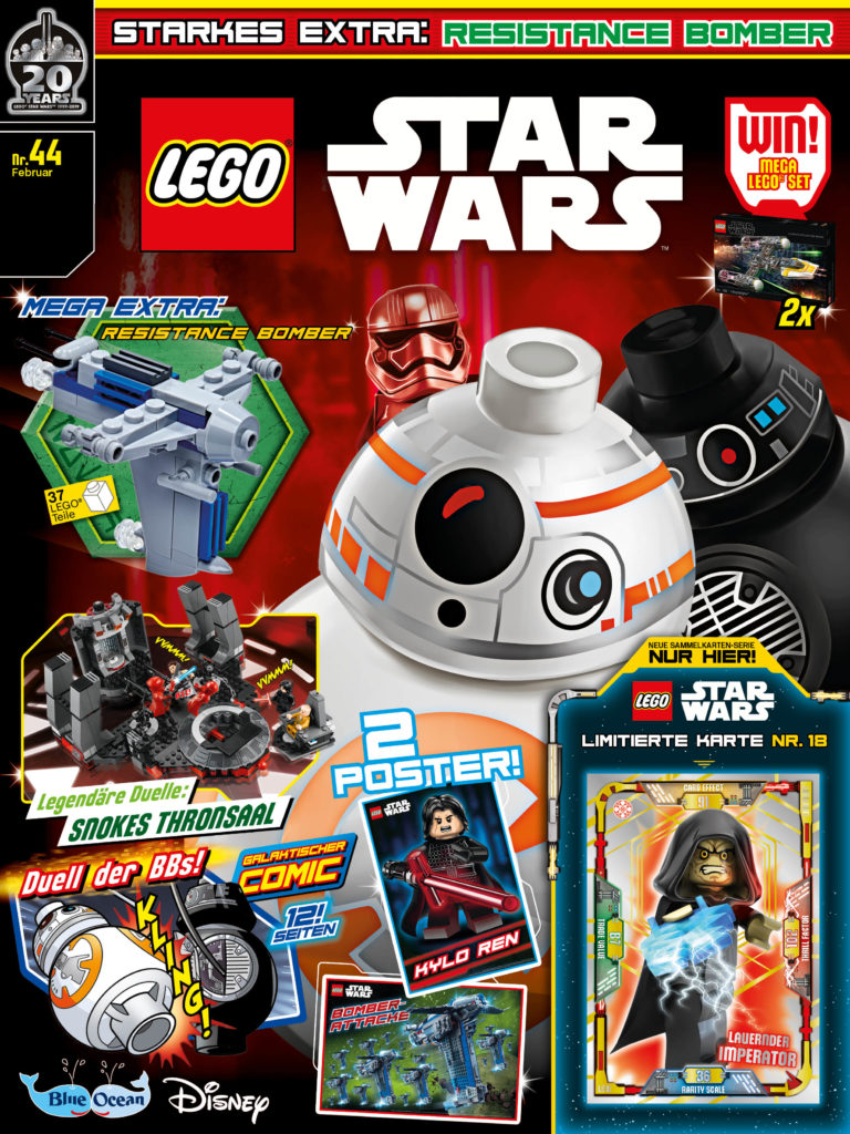 LEGO Star Wars Magazin #44 (26.01.2019)