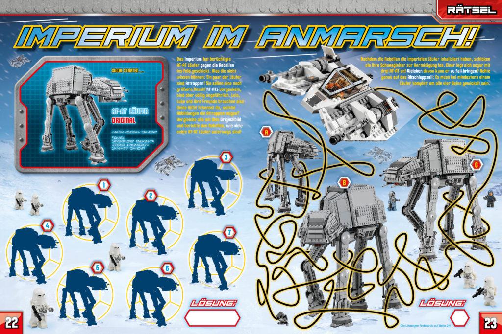 LEGO Star Wars Magazin #44 - Vorschau Seiten 22 und 23