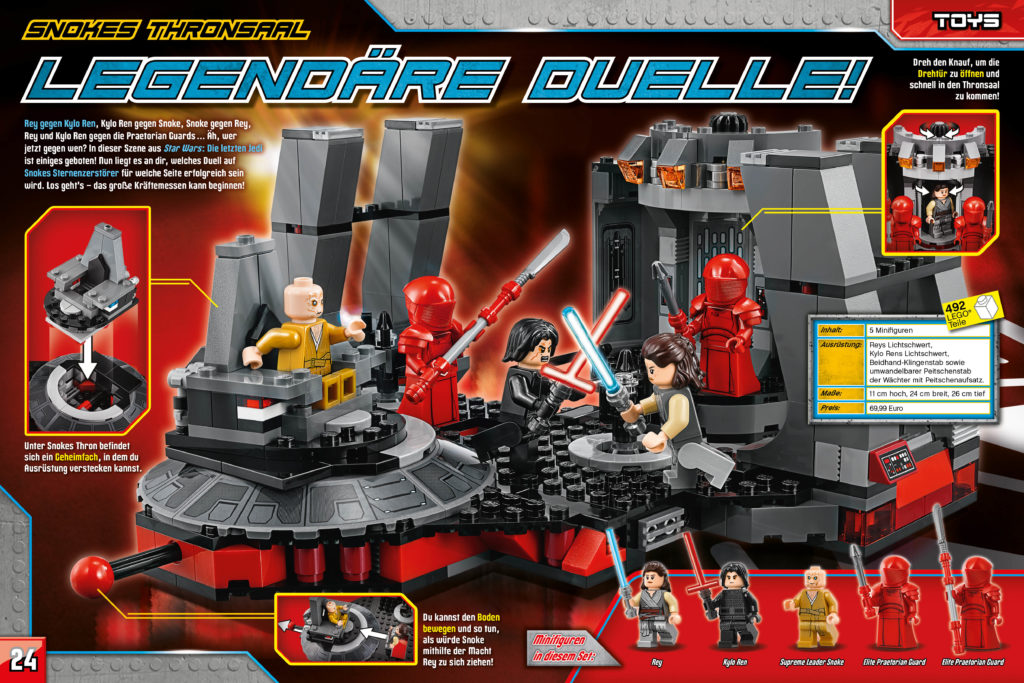 LEGO Star Wars Magazin #44 - Vorschau Seiten 24 und 25