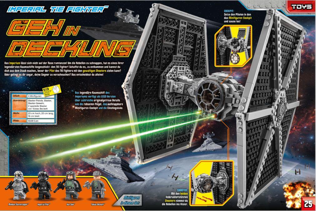 LEGO Star Wars Magazin #45 - Vorschau Seiten 24 und 25