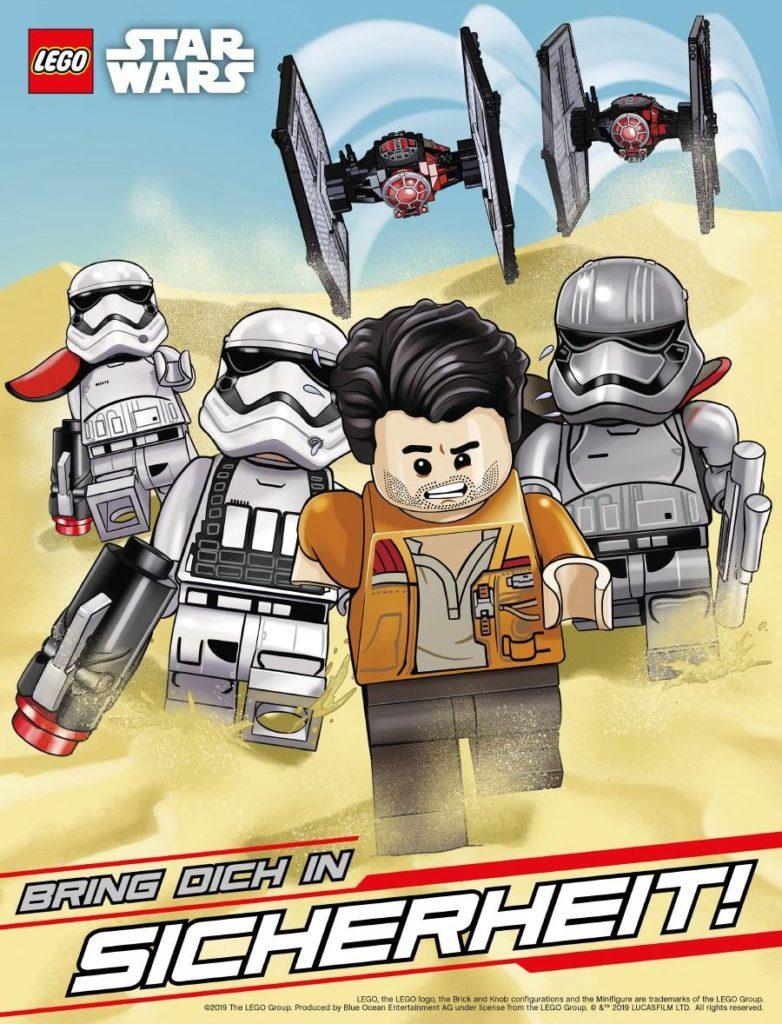 LEGO Star Wars Sammelband #14 - Abenteuer mit Chewbacca und Han Solo - Poster 2
