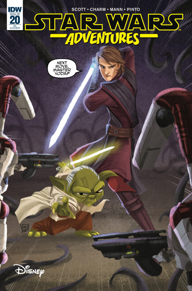 Star Wars Adventures #20 (Valentina Pinto Variant Cover) (17.04.2019)