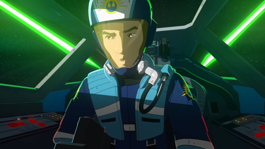 "Kazuda ""Kaz"" Xiono in Star Wars Resistance ©2019 & TM Lucasfilm Ltd."