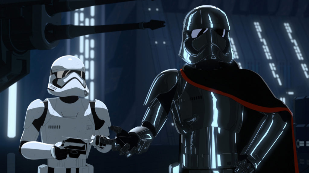 Captain Phasma in Star Wars Resistance ©2019 & TM Lucasfilm Ltd.