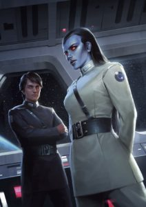 Thrawn: Treason - Poster der Barnes & Noble Edition