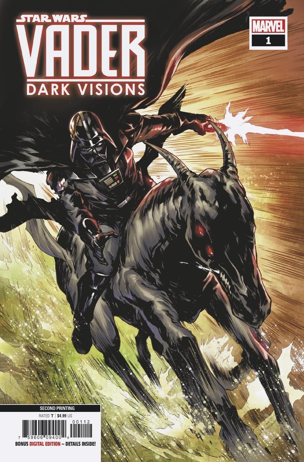 Vader: Dark Visions #1 (2nd Printing) (17.04.2019)