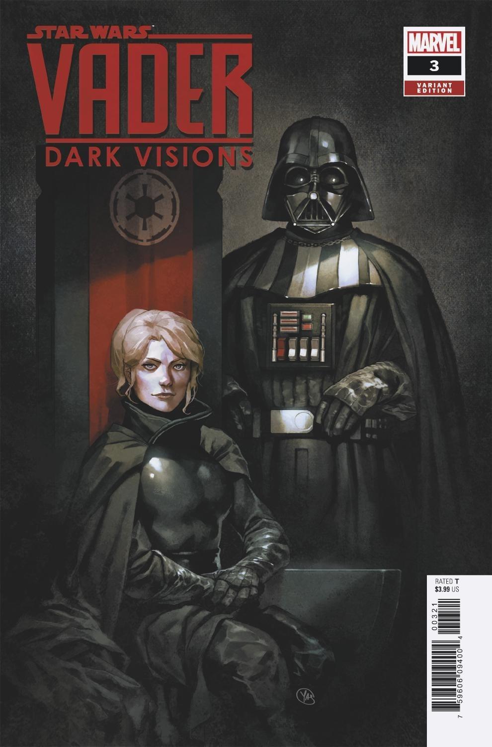 Vader: Dark Visions #3 (Yasmine Putri Variant Cover) (24.04.2019)