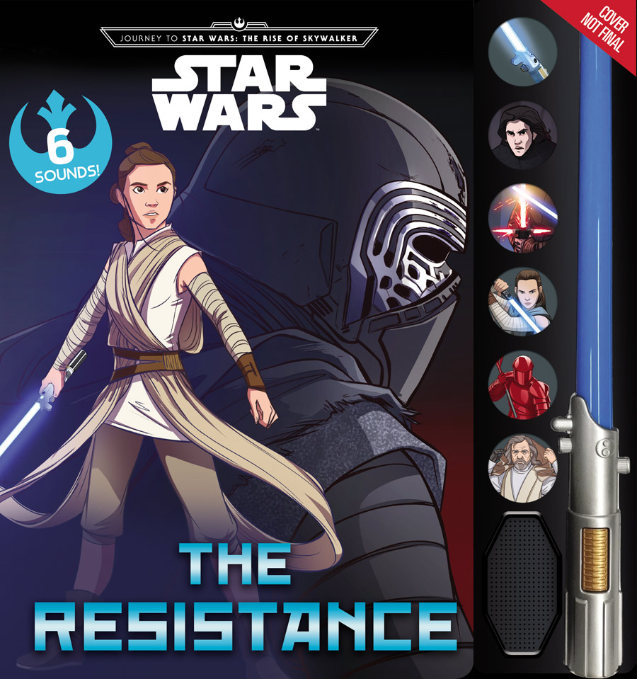 The Resistance - Lightsaber Sound Book (04.10.2019)