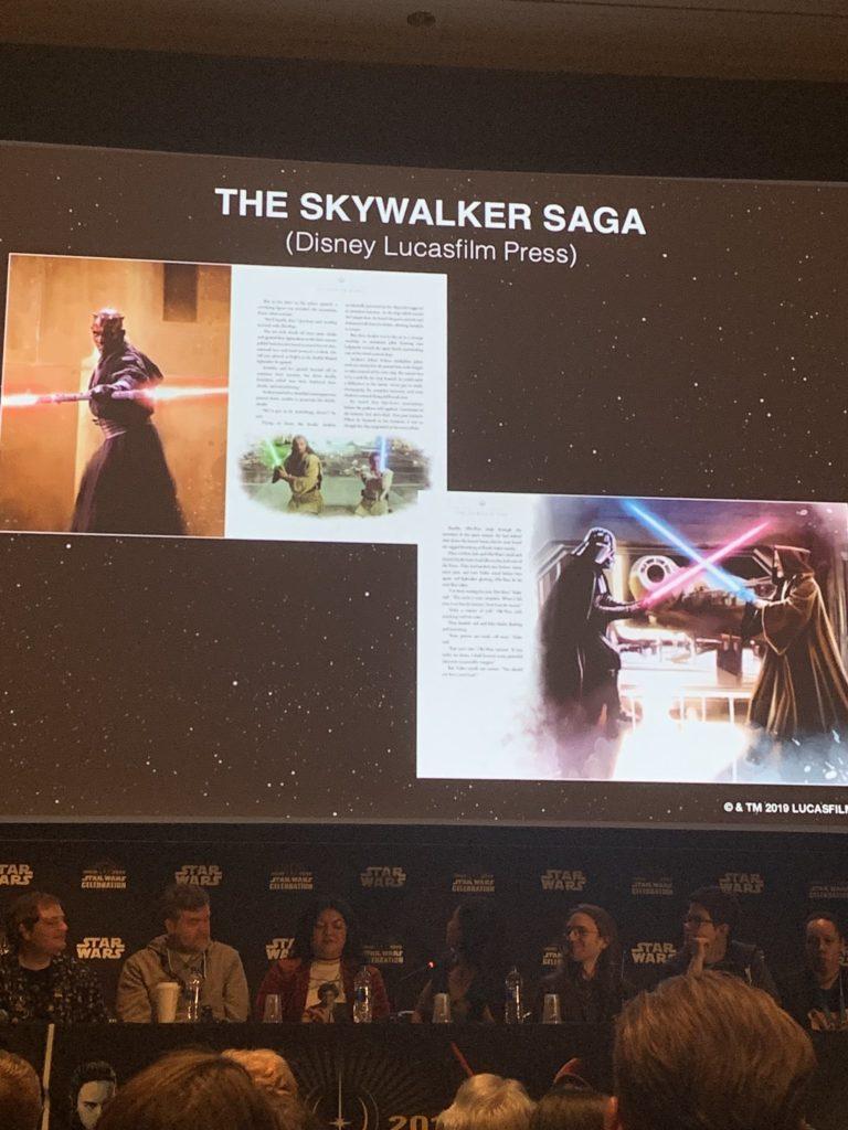 Vorschauseite aus The Skywalker Saga